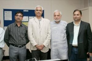 Anil Vyas, Faruque Ganchi, Vipool Kalyani, Pancham Shukla.