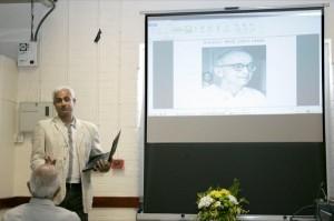 Dr Faruque Ganchi rendering Umashankar Joshi.