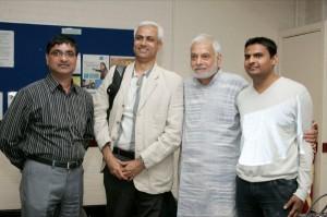 Anil Vyas, Faruque Ghanchi, Vipool Kalyani, Niraj Shah